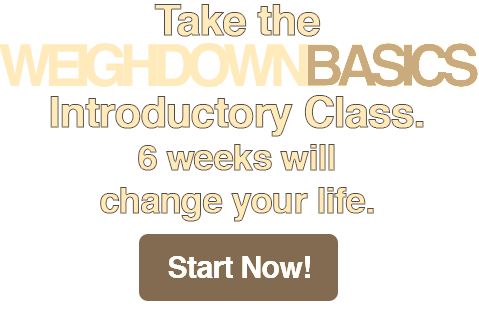 Sign up for Weigh Down Basics